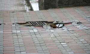 перекладка тротуарной плитки