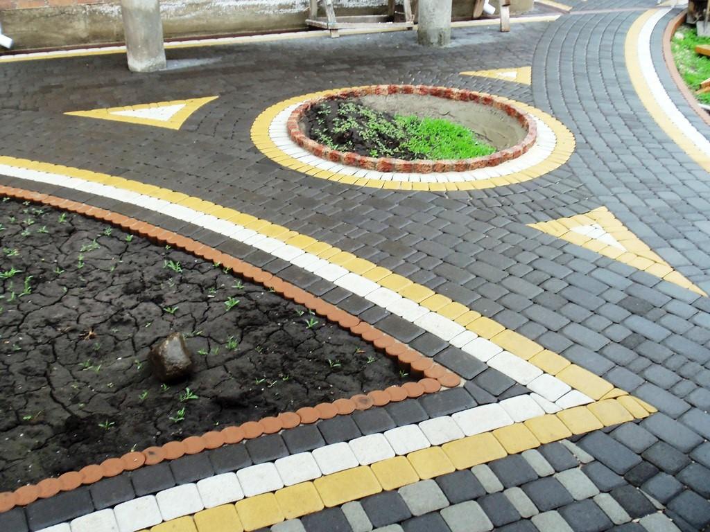 Плитка тротуарная дизайн