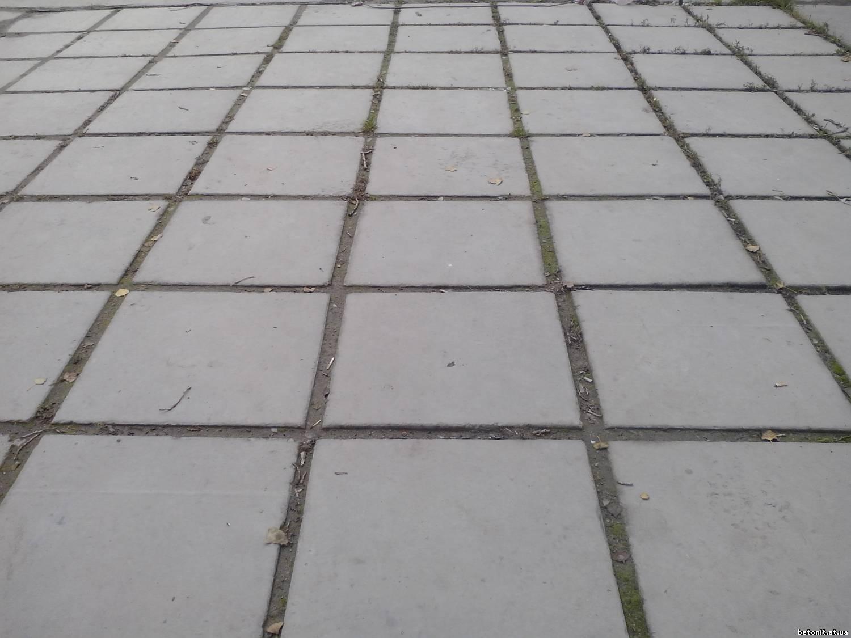 Плитка бетонная тротуарная своими руками