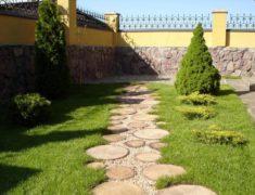 дорожки из спила, купить тротуарную плитку в Харькове, спил деревьев, садовые дорожки, укладка тротуарной плитки Харьков, тротуарная плитка харьков